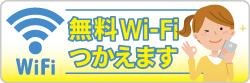 WiFi使えます!